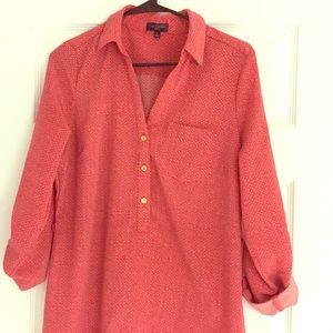 The Limited Ashton shirt dress